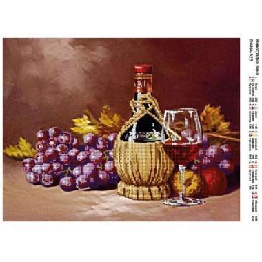 """Схема для вишивки бісером """"Виноградне вино"""""""