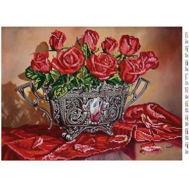 """Схема для вишивки бісером """"Спокусливі троянди"""""""