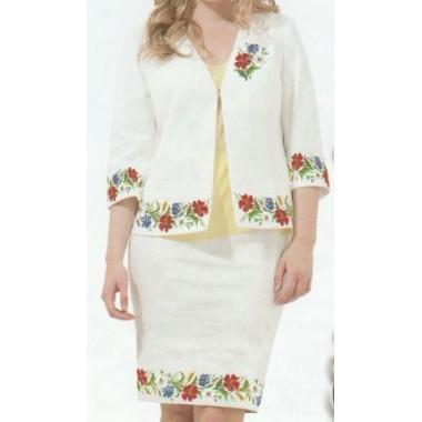 """Схема для вишивання сорочки або плаття хрестиком """"Святковий настрій"""""""
