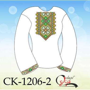 """Заготовка дитячої блузки під вишивку """"Зірковий орнамент"""" (варіант 2)"""