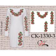 """Заготовка плаття під вишивку """"Червона горобина"""" (варіант 3)"""