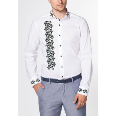 """Заготовка чоловічої сорочки під вишивку """"Срібна осінь"""""""