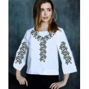"""Заготовка жіночої блузки під вишивку """"Срібна осінь"""""""