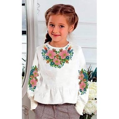 "Заготовка дитячої блузки ""Цвіт шипшини"""
