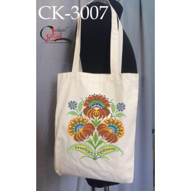 """Еко-сумка під вишивку """"Петриківські квіти"""""""