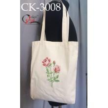 """Еко-сумка під вишивку """"Рожеві троянди"""""""