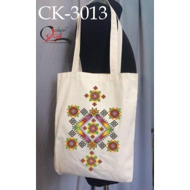 """Еко-сумка під вишивку """"Кольоровий орнамент"""""""