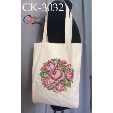 """Еко-сумка під вишивку """"Клубок троянд"""""""