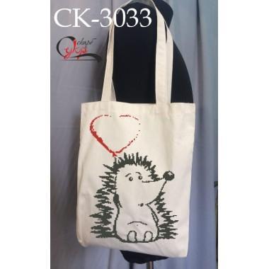 """Еко-сумка під вишивку """"Закоханий їжачок"""""""