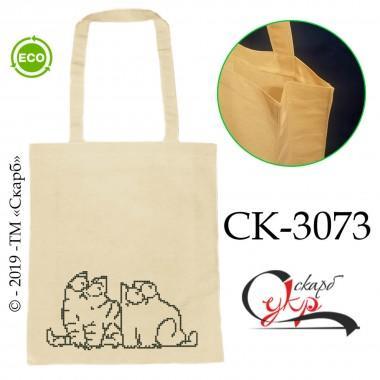 """Еко-сумка під вишивку """"Ображений Кіт Саймона"""""""
