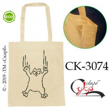 """Еко-сумка під вишивку """"Кіт Саймона в польоті"""""""