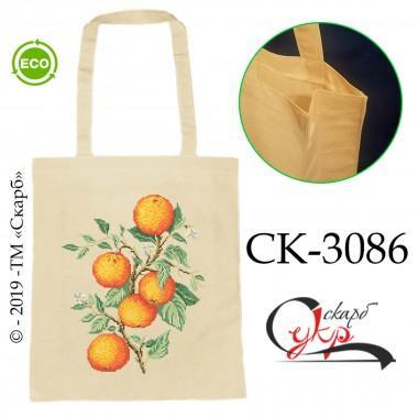 """Еко-сумка під вишивку """"Гілка апельсинового дерева"""""""