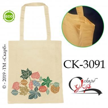 """Еко-сумка під вишивку """"Різнобарвне листя"""""""