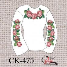 """Заготовка жіночої блузки під вишивку """"Цвіт рожевих троянд"""""""
