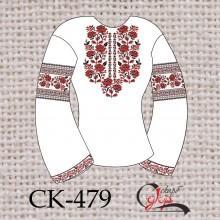 """Заготовка жіночої блузки під вишивку """"Орнамент з троянд"""""""