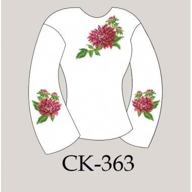 """Заготовка жіночої блузки під вишивку """"Чарівна хризантема"""""""