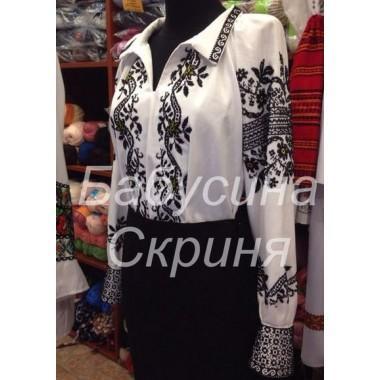 """Заготовка жіночої сорочки з нанесеним малюнком під вишивку """"Сокальська"""" (загадкова)"""